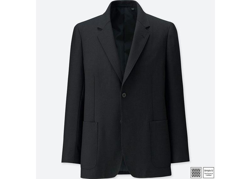 ウールブレンドジャケット