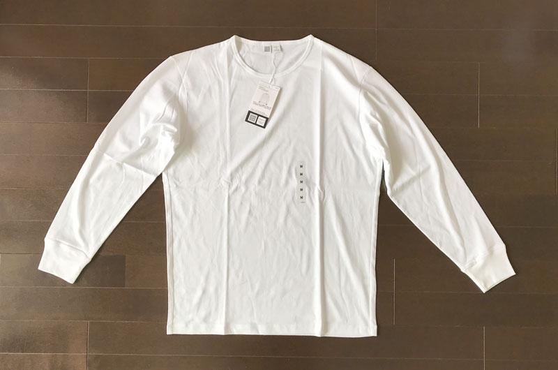 ユニクロユー スーピマコットンTシャツの長袖