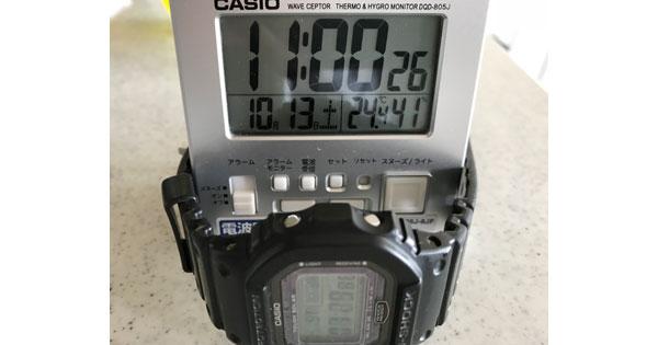 リーバイス501LVC1966モデルのセットアップ 気温と湿度を記録