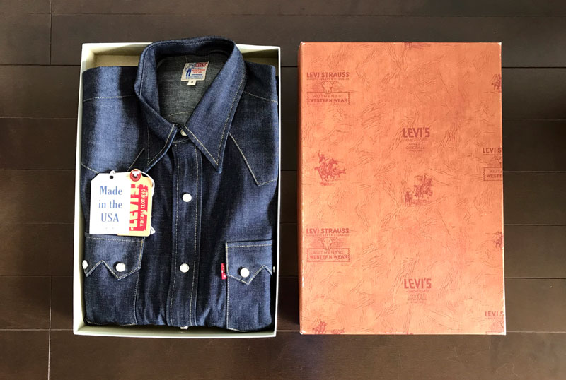リーバイスLVC1955ソートゥースシャツ