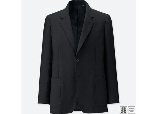 ユニクロユーのセットアップスーツ ジャケット
