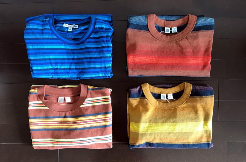 JWアンダーソンやクリストフ・ルメールがデザインしたボーダーTシャツ