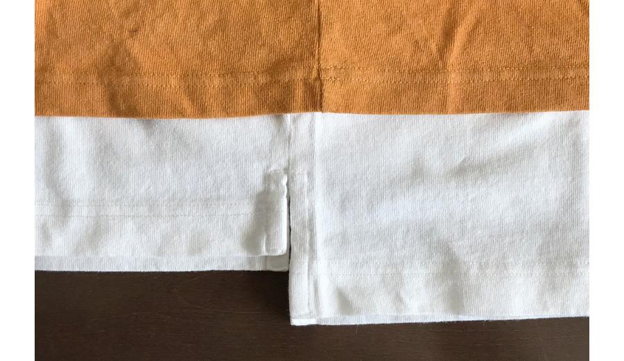 オーバーサイズクルーネックT(2019モデル)裾