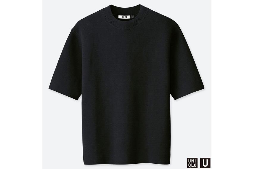 ユニクロユー ミラノリブクルーネックセーター(2019モデル)