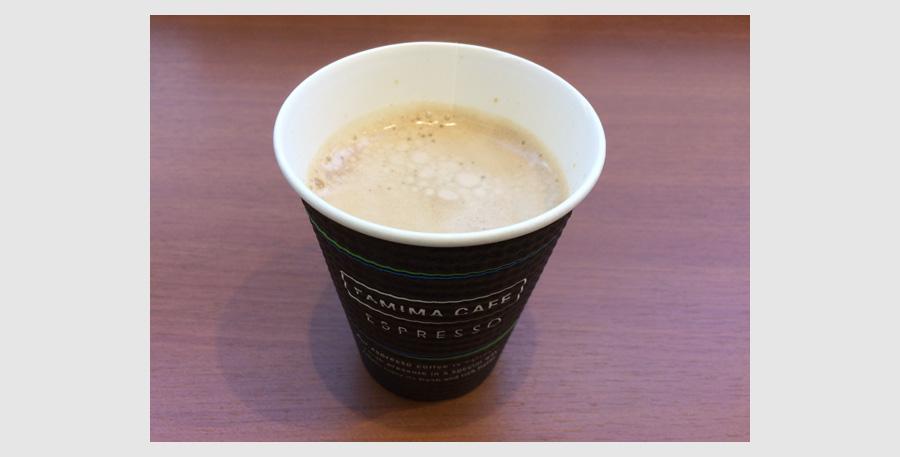 d払いのファミマの無料コーヒー