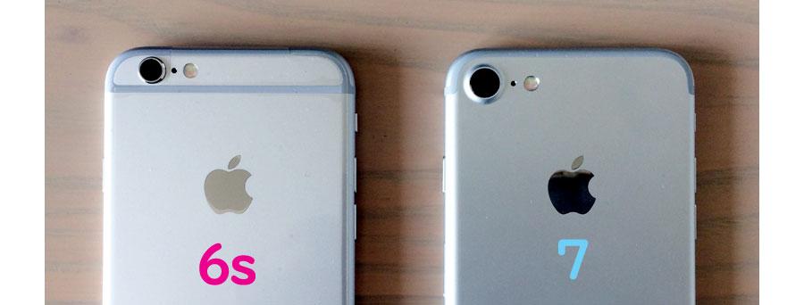 アイフォン6sと7以降のレンズの大きさ
