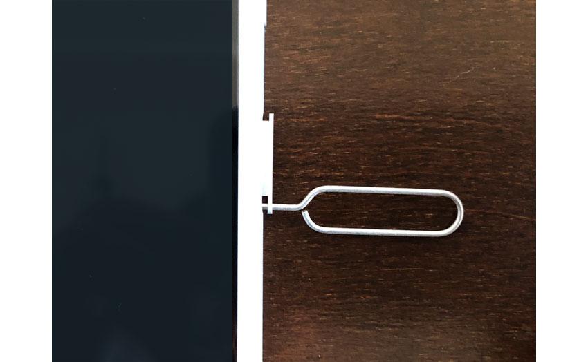 iPhonのSIMカードを自分でセット3