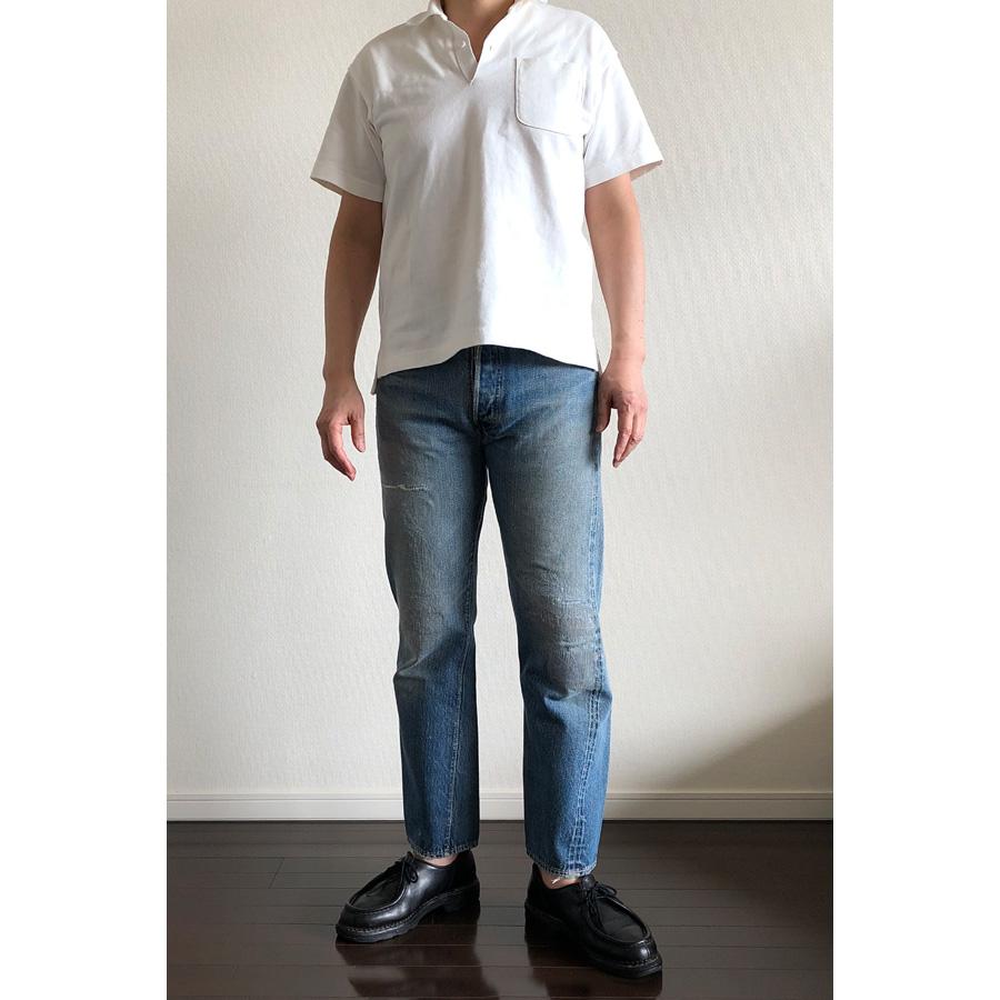 ユニクロ×エンジニアド ガーメンツ・オーバーサイズポロシャツとリーバイス501