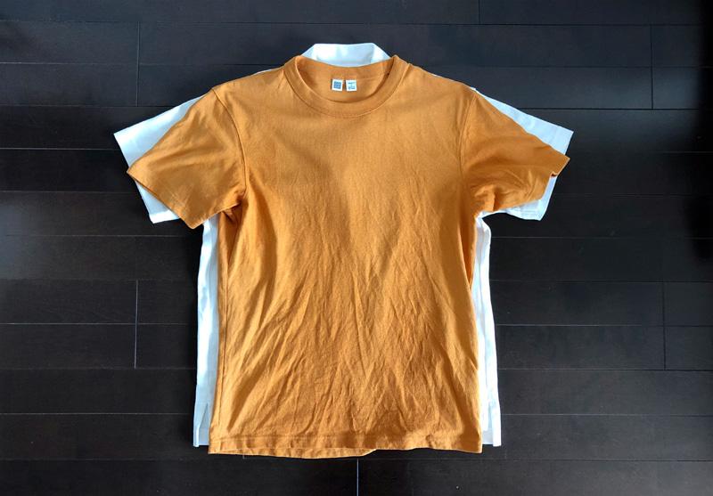 ユニクロ×エンジニアド ガーメンツ・オーバーサイズポロシャツ2