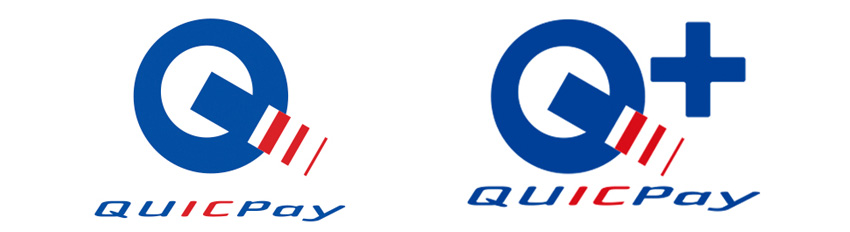 、QUICPay・QUICPay+加盟店のマーク
