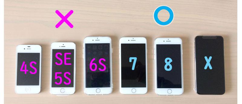Apple Payが使えるアイフォン