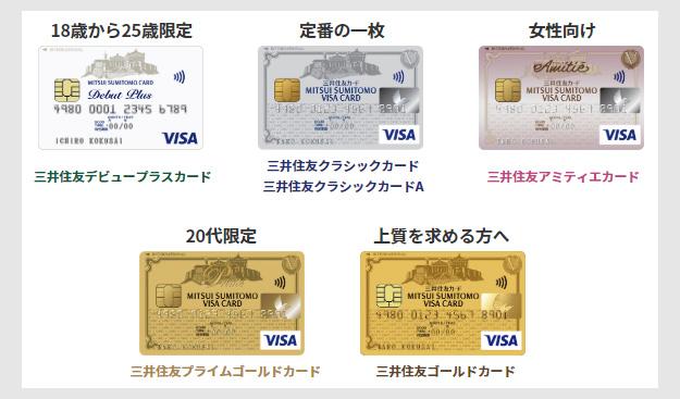 STEP1:三井住友カード新規申込のポイント2