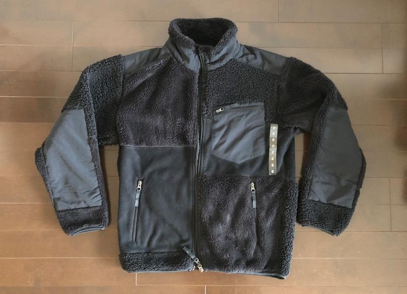 ユニクロ×エンジニアド ガーメンツ フリースコンビネーションジャケット