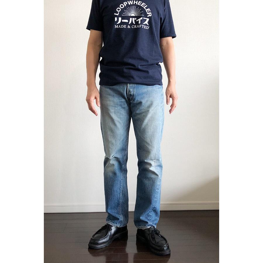 リーバイス Made & Crafted×ループウィラーのTシャツ1