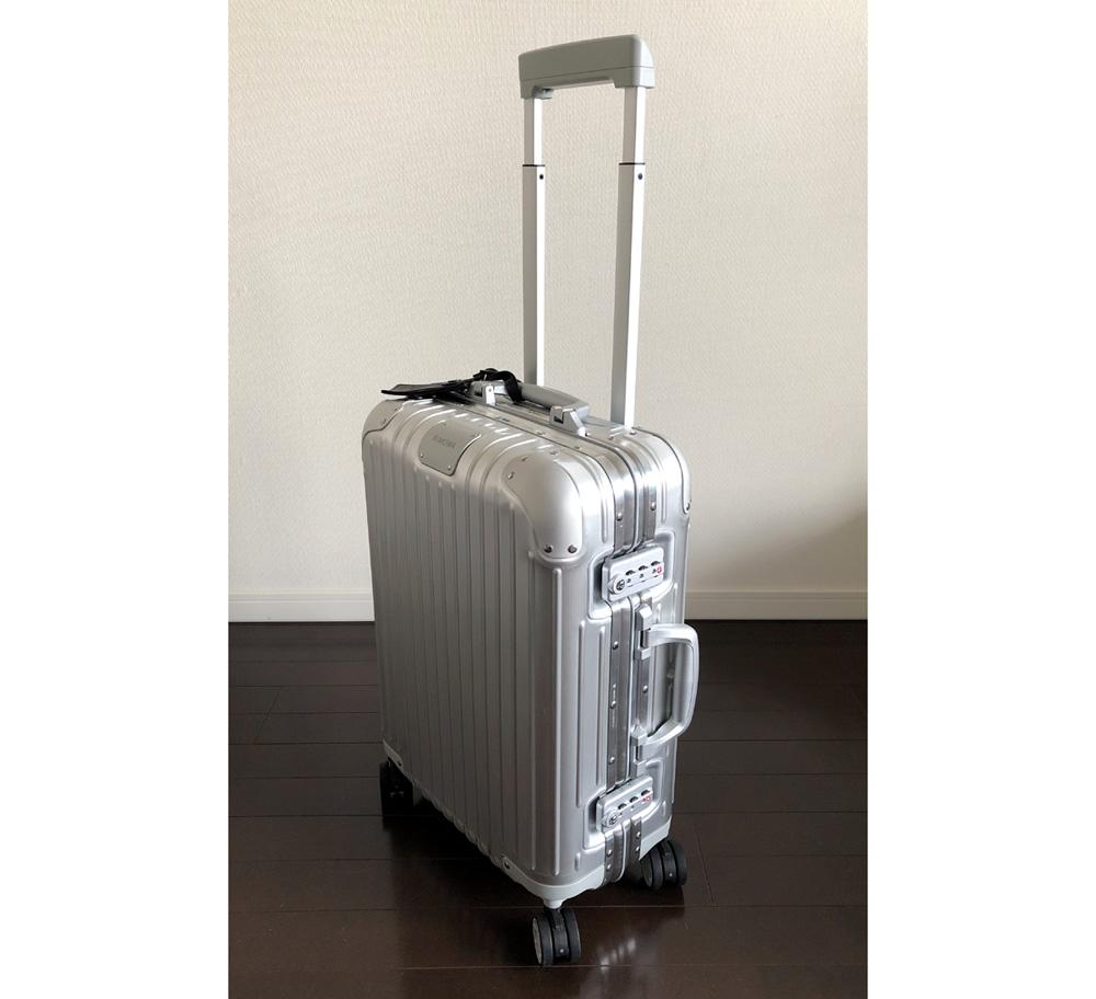 リモワのスーツケース(機内持込みタイプ)2