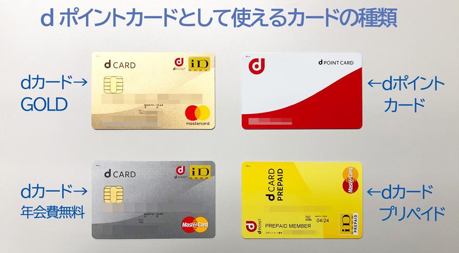 ステップ2:dポイントカードを用意する