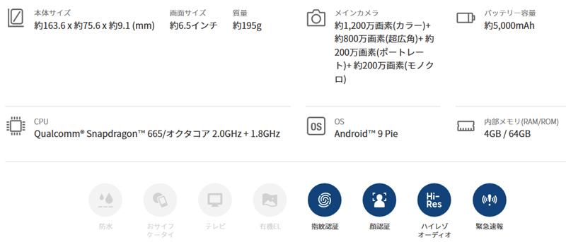 OPPO A5 2020(28800円)2