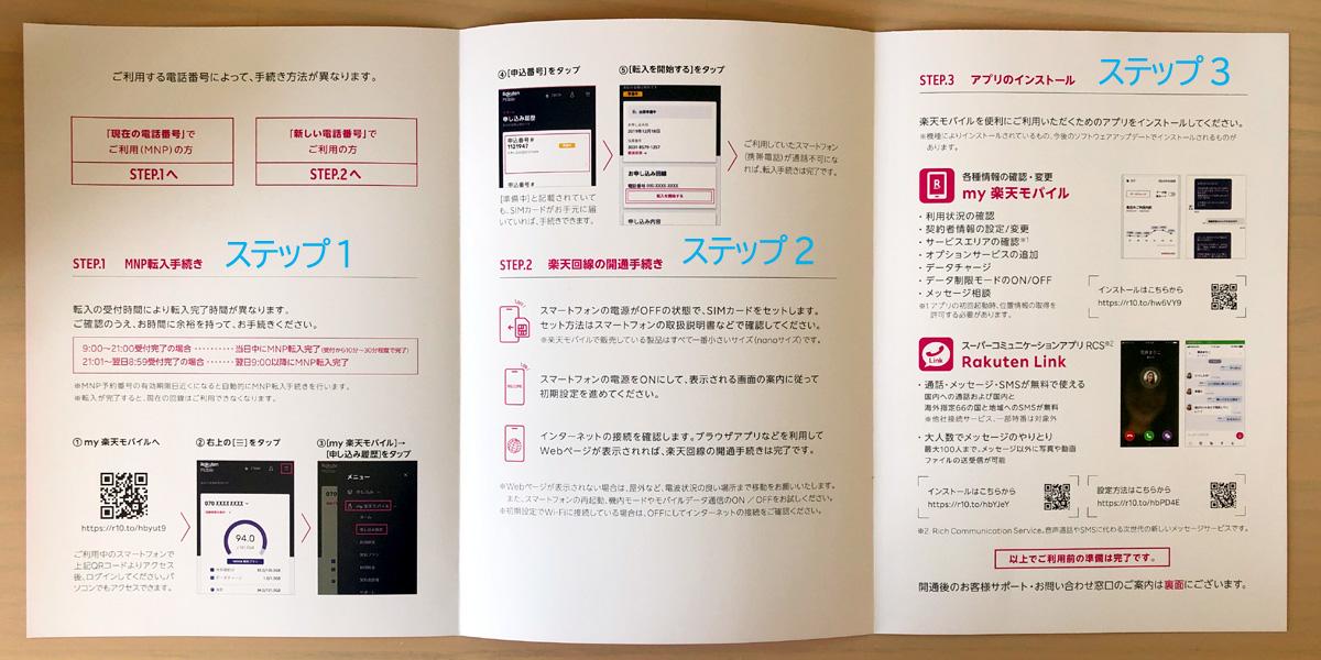 Rakuten UN-LIMITの基本3