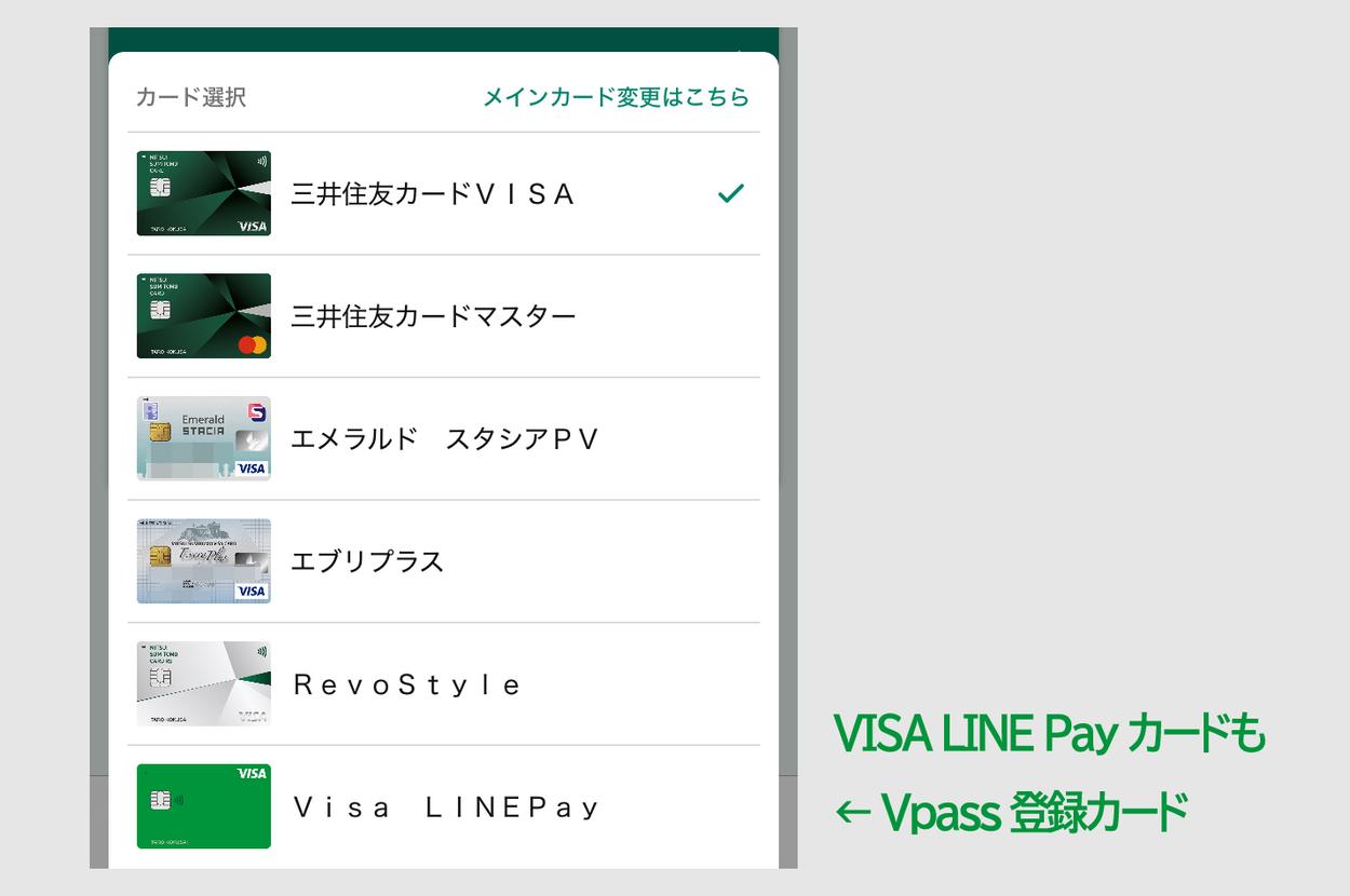 VISA LINE Pay カードが届いた4