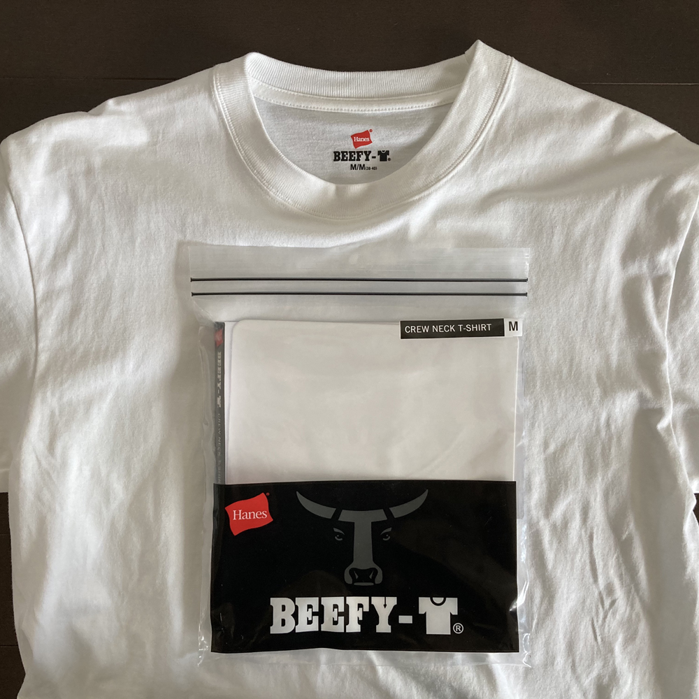 ヘインズ ビーフィー Tシャツ H5180 1