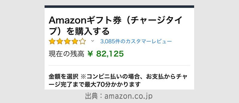 Amazonギフト券をコンビニ払いする方法12