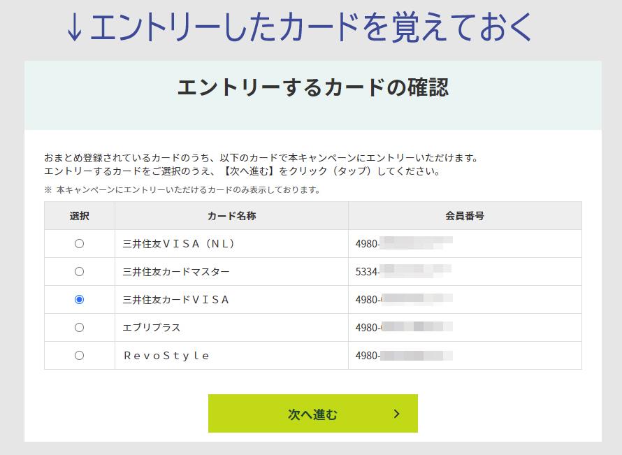 三井住友カードで1万円が1口で抽選 1000Pが9万名2