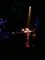 スカジーでステージ横なう。
