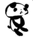 pandaさんの秘密の部屋マスコットキャラ