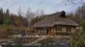 今日の僕の絵は、COOL JAPAN 日本の家シリーズの絵で、藁葺屋根の家で思