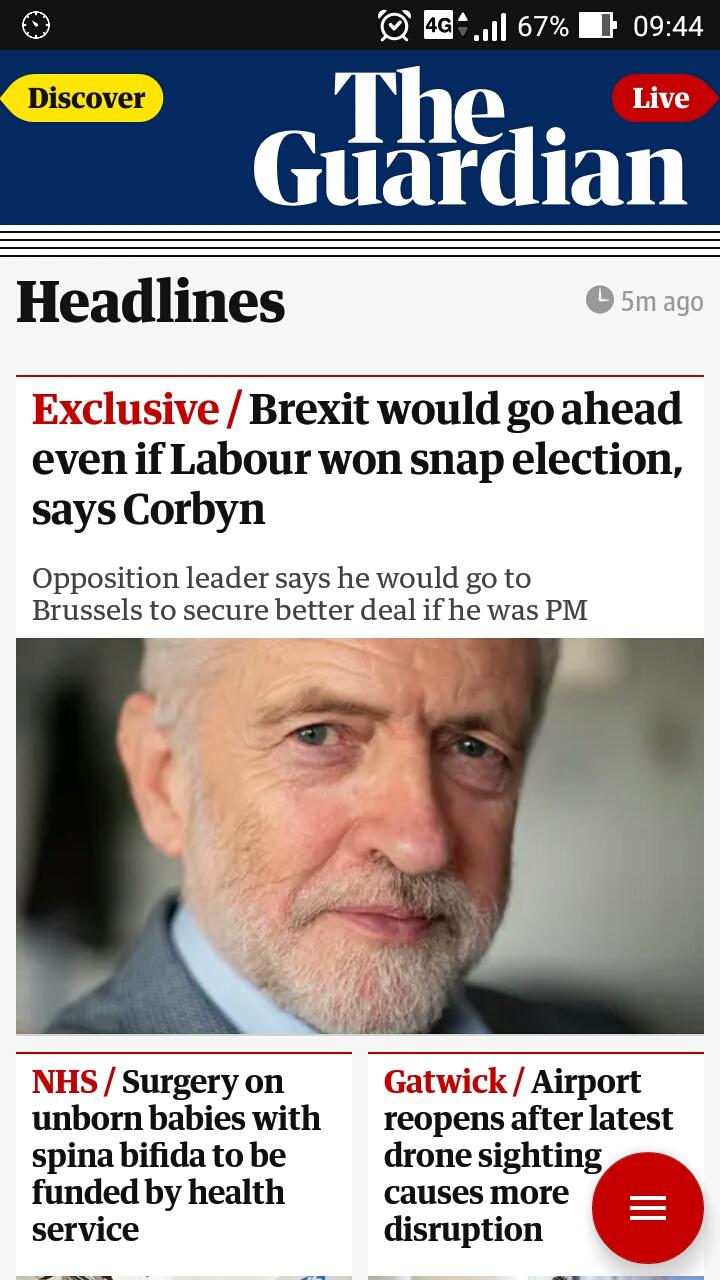 2018年12月22日、the Guardian