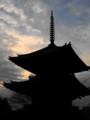 興福寺三重塔夕景