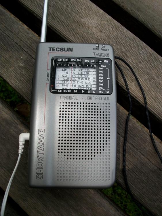TECSUN R-908 (その1)