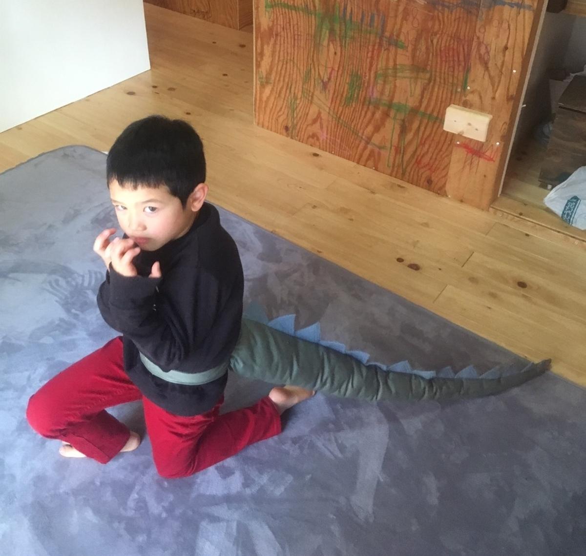 dinasaur tail