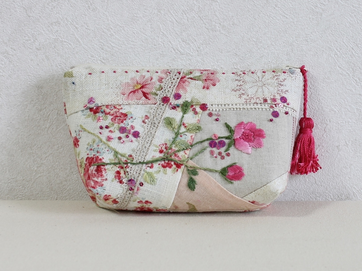 patchwork pouch photo