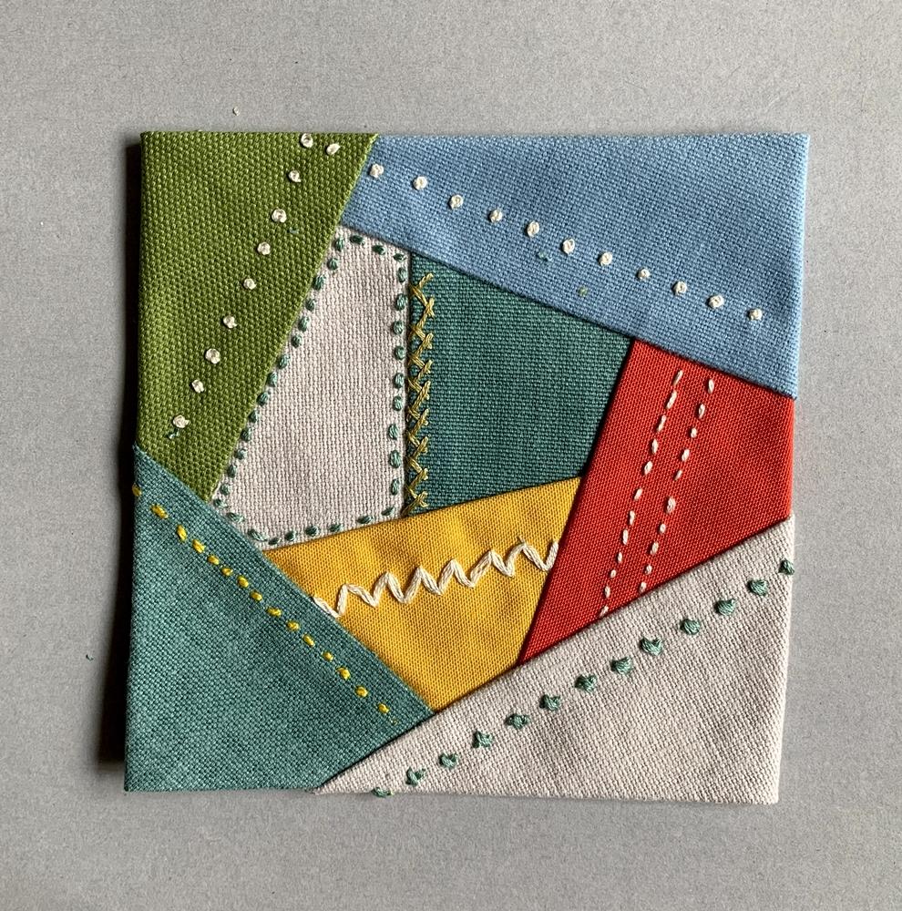 patchwork coaster photo