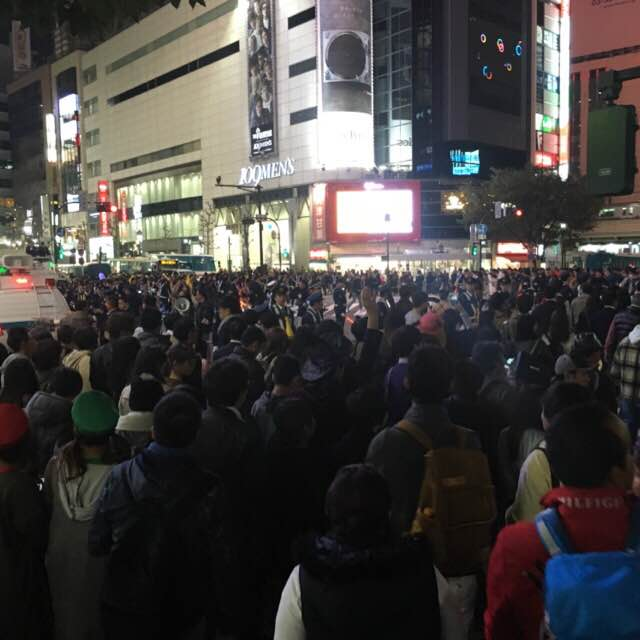 2016渋谷ハロウィン