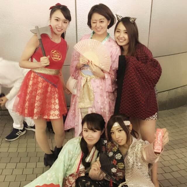 2016ハロウィン美人三太郎