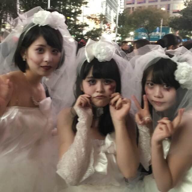 2016ハロウィン美人花嫁