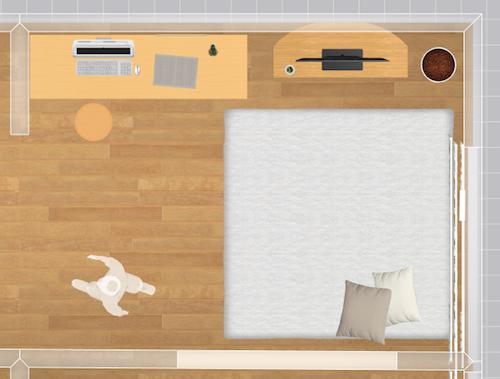家具配置シュミレーター平面