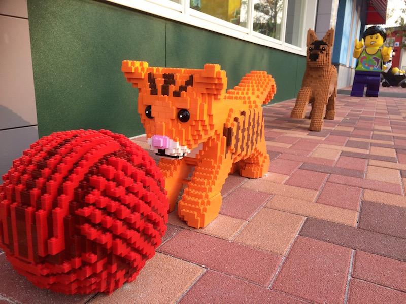 ストーリーを感じるレゴ作品も魅力