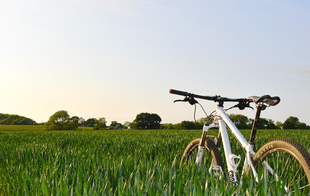 走れない時のトレーニングにサイクリング