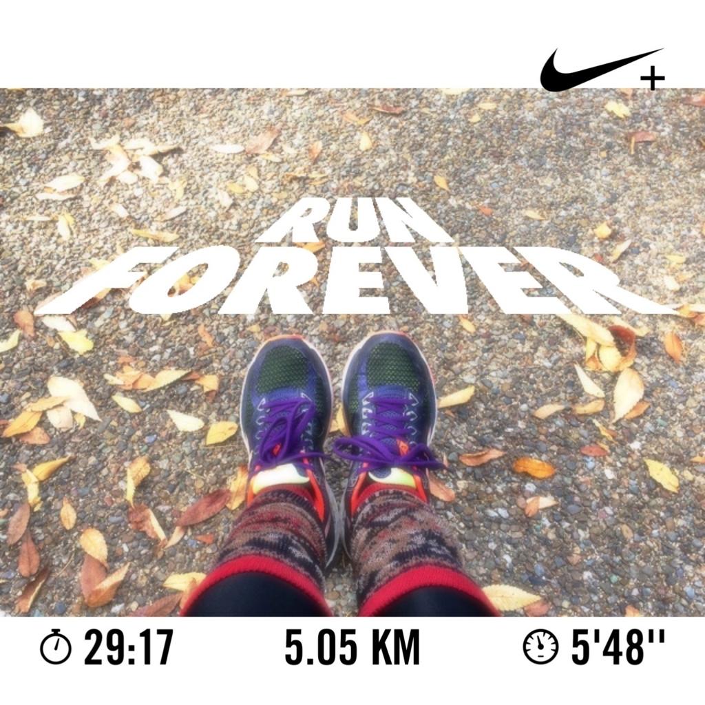 5km自己ベスト