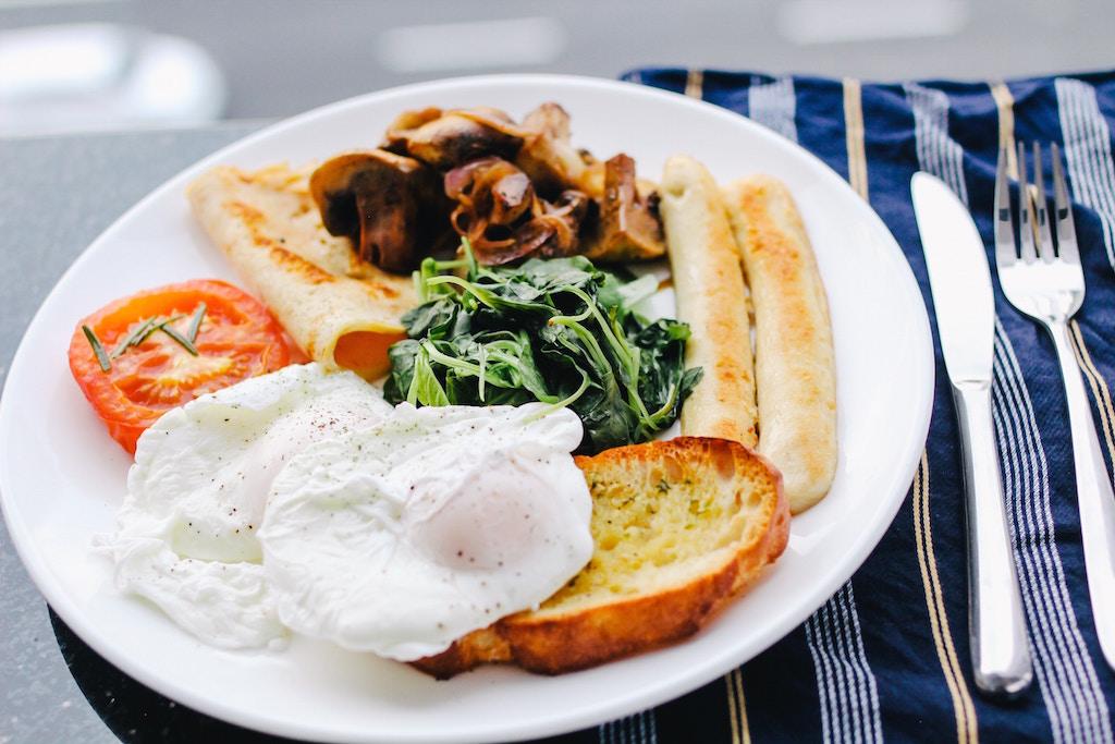 マラソン大会スタート時間に合わせた朝食