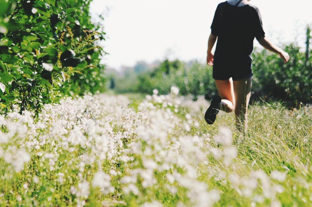 練習を継続して走る距離と時間を伸ばす