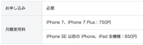iPhoneの保険