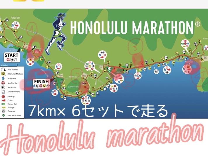 ホノルルマラソンを楽に走るコツ
