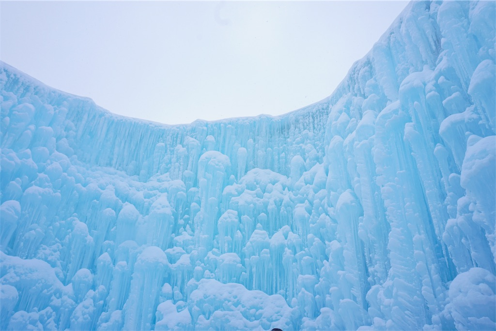 まつり 濤 支笏 氷 湖