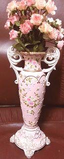 ロココ風花瓶