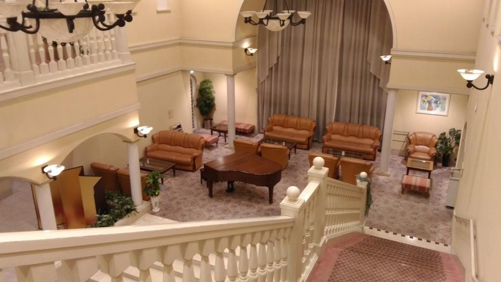 2階から見たソファーコーナー