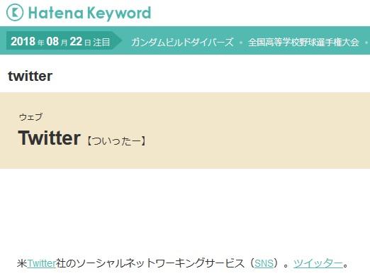 『Hatena Keyword(はてなキーワード)』のキーワード自動リンクはこのように表示される